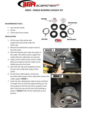 BMR Installation Instructions for CB010