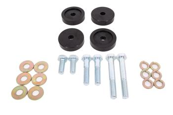 BK054 Differential Bushing Lockout Kit, Billet Aluminum