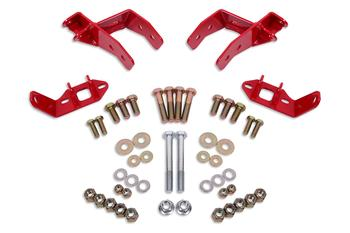 CCK461 Coilover Conversion Kit, Rear, Non-adjustable, Shock Mount, Without CAB
