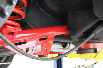 TCA015 - Lower Control Arms, DOM, Non-adjustable, Polyurethane Bushings